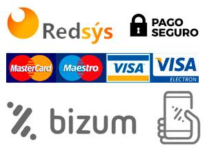 Métodos de pago seguro